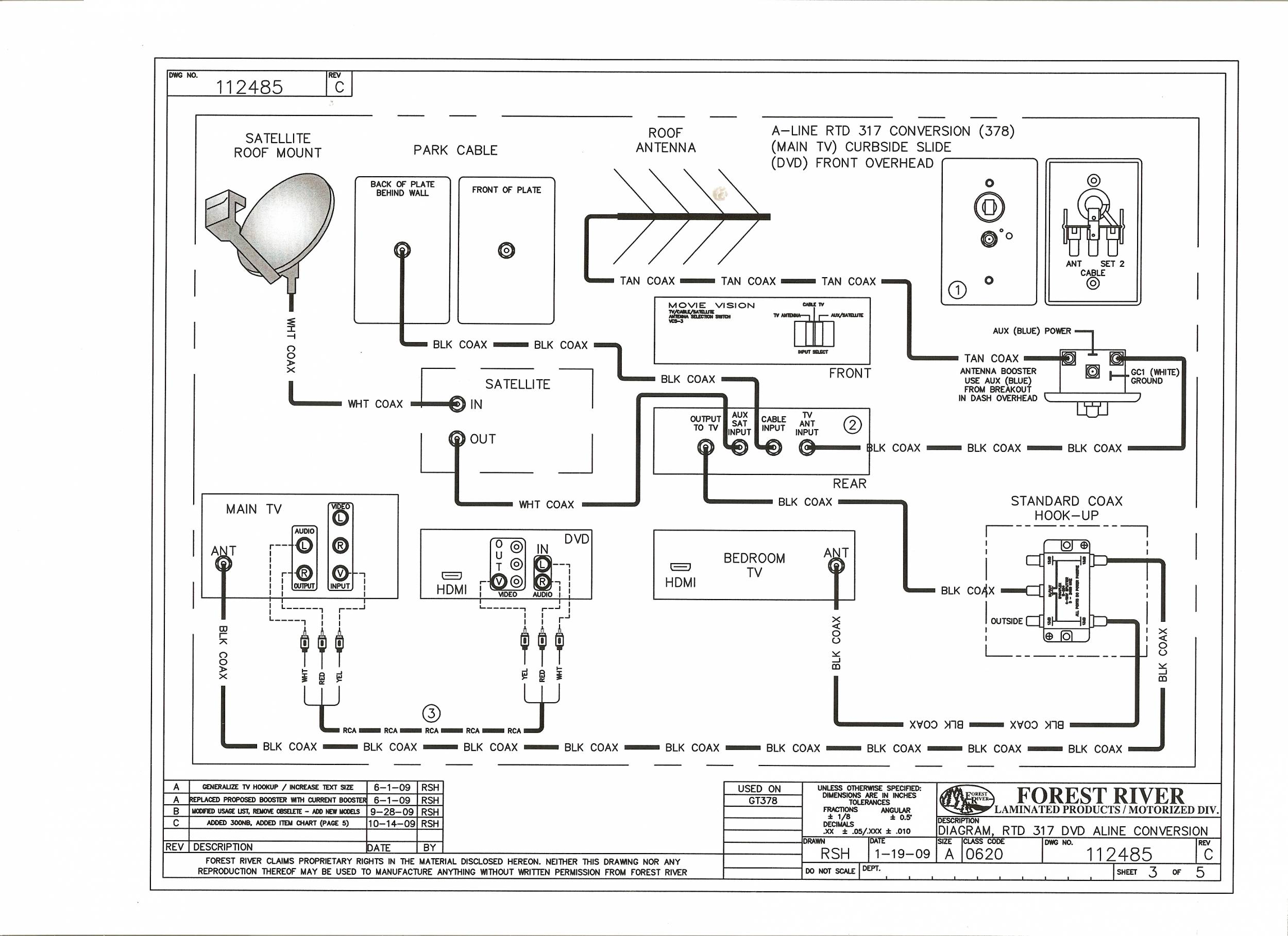 Tv Wiring Diagram