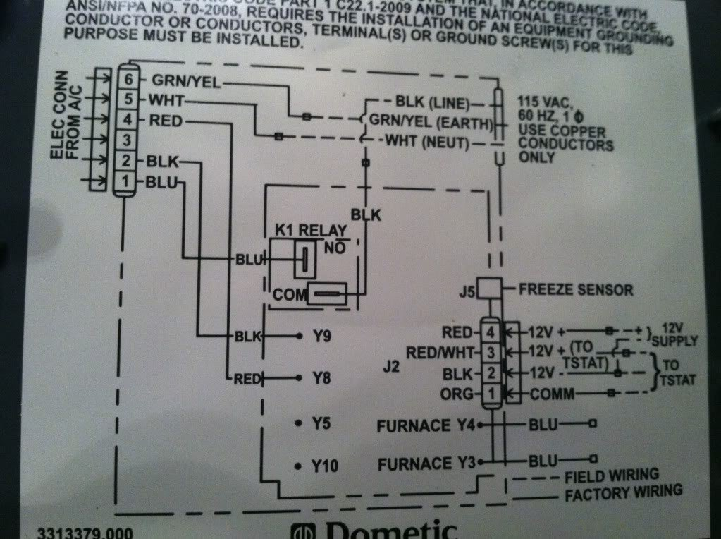 dometic lcd thermostat - honeywell upgrade? - forest river forums  forest river forums