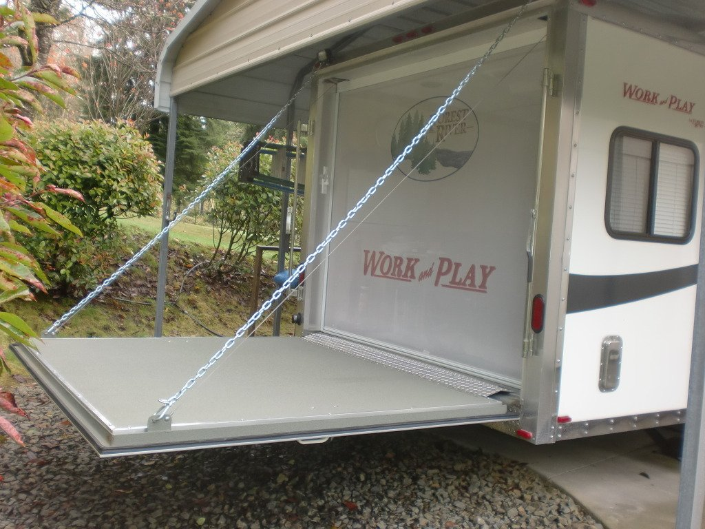 Toy Hauler Tailgate Screen Room Wow Blog
