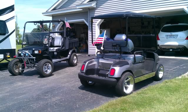Towing a Golf Car - Forest River Forums on maleficent golf cart, unicorn golf cart, ghostbusters golf cart, predator golf cart, gnome golf cart,