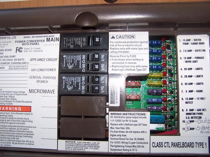 forest river xlr wiring schematics for no 12 volt or hvac - forest river forums forest river fuse box