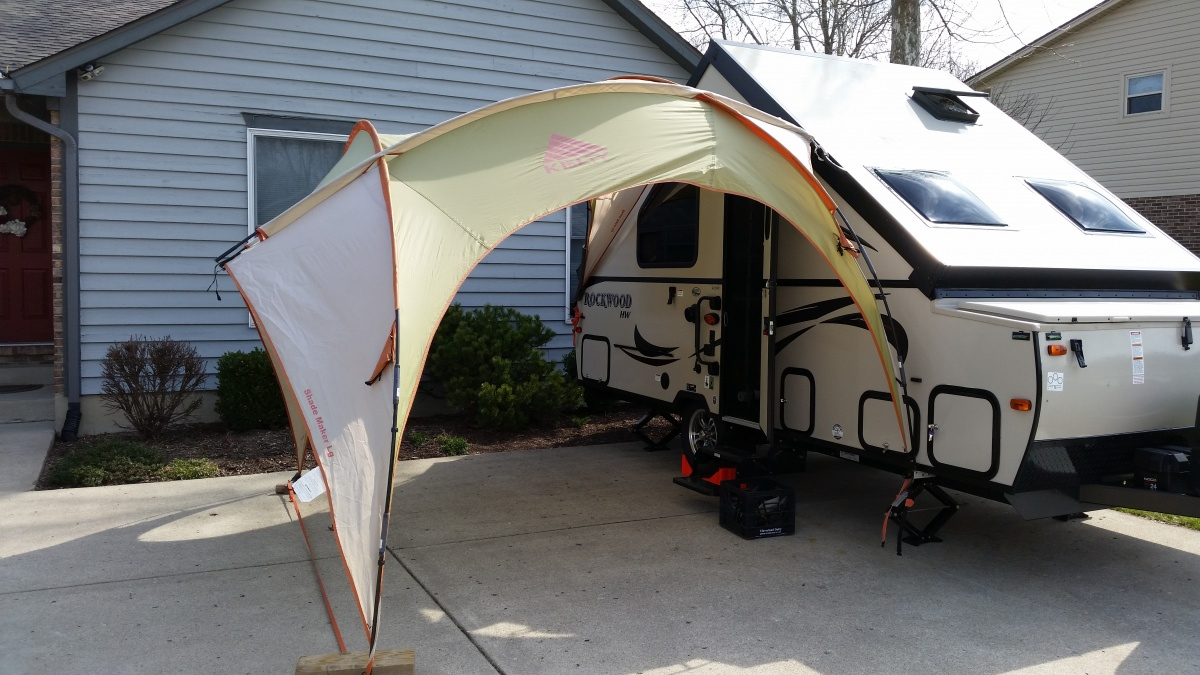 Homemade Awnings for A Frame - Forest River Forums