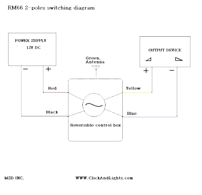 Click image for larger version  Name:12V DC 2-POLE REVERSIBLE MOMENTARY REMOTE KIT RM66 Circuit Diagram.jpg Views:298 Size:22.7 KB ID:11059