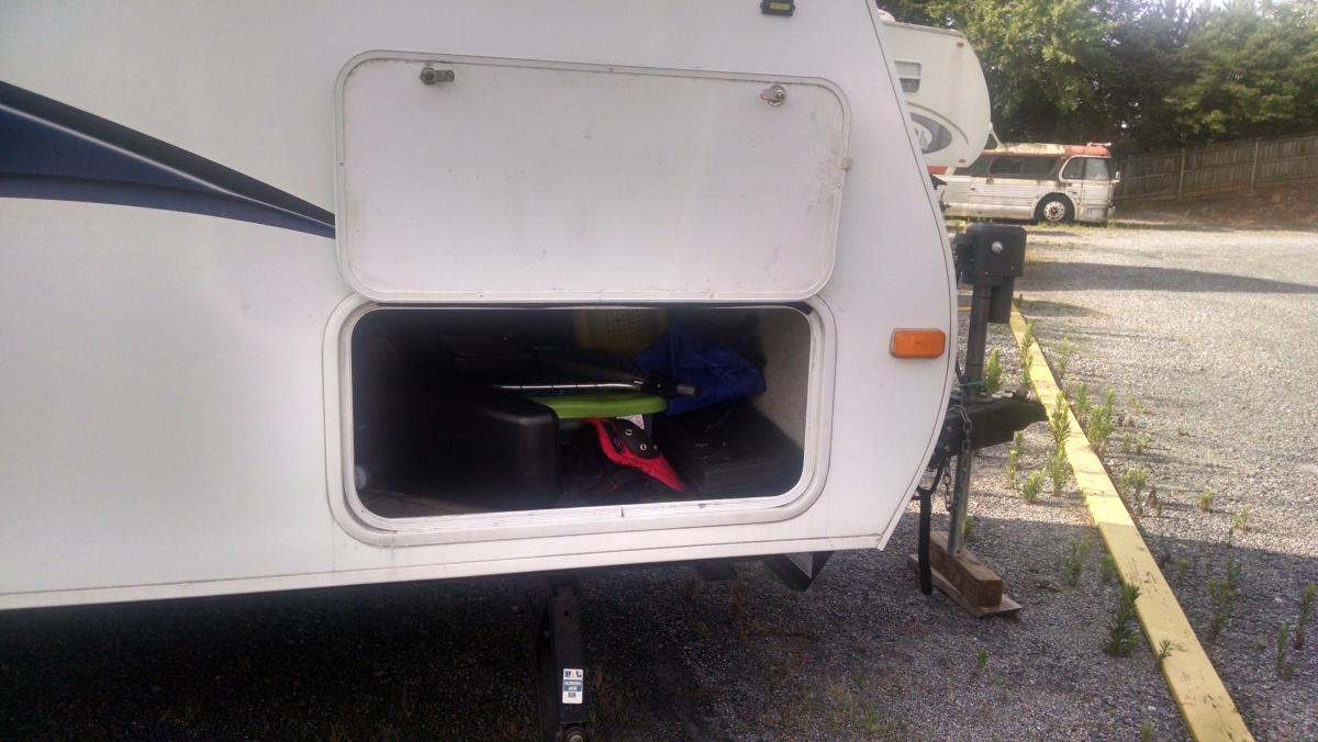 Leaking Storage Compartment Door - Forest River Forums