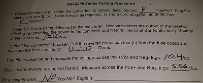Click image for larger version  Name:WFCO Series 8900 test results - Converter Bad.JPG Views:281 Size:85.0 KB ID:116435