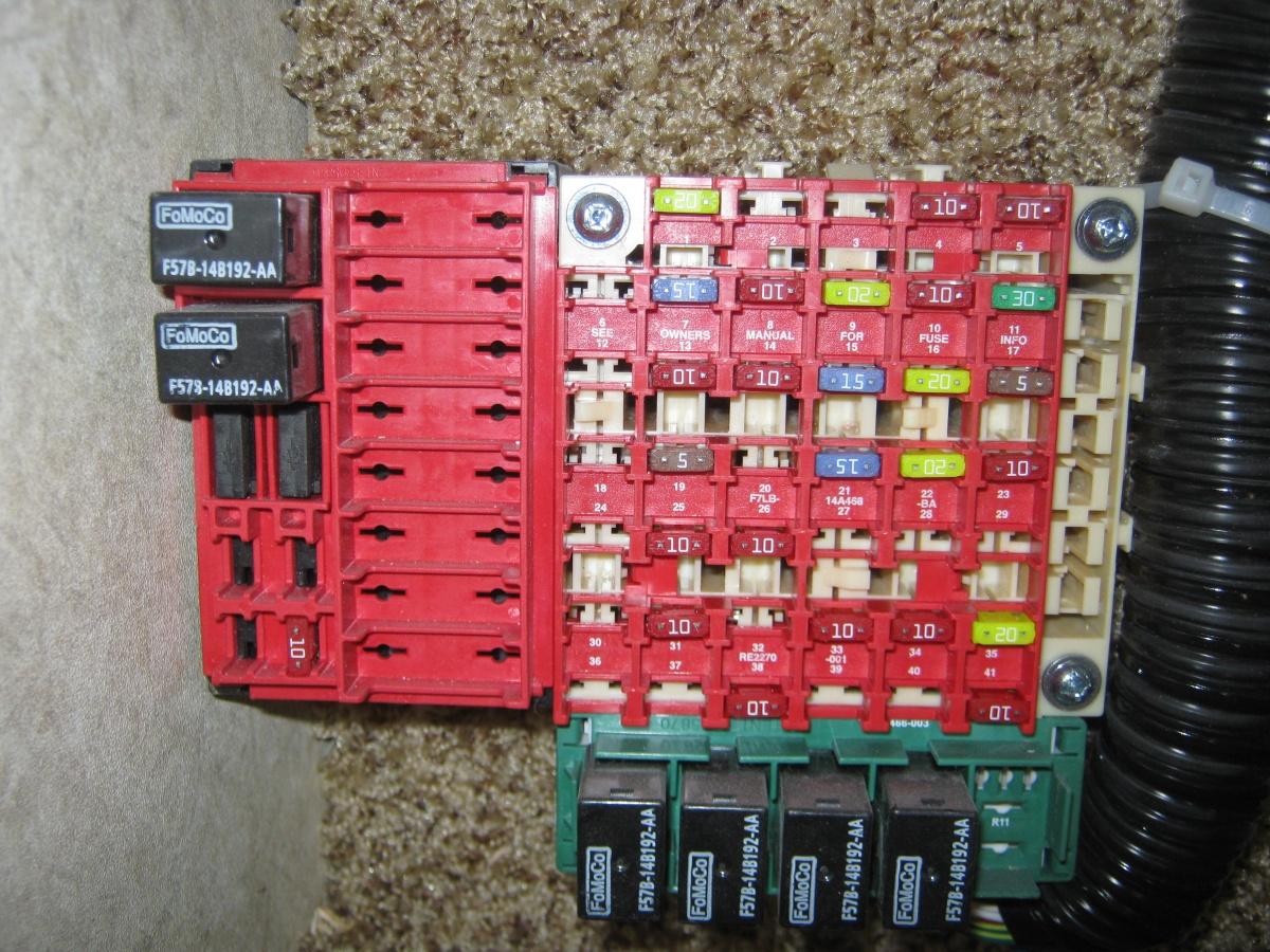 Fuse box question - Forest River Forums