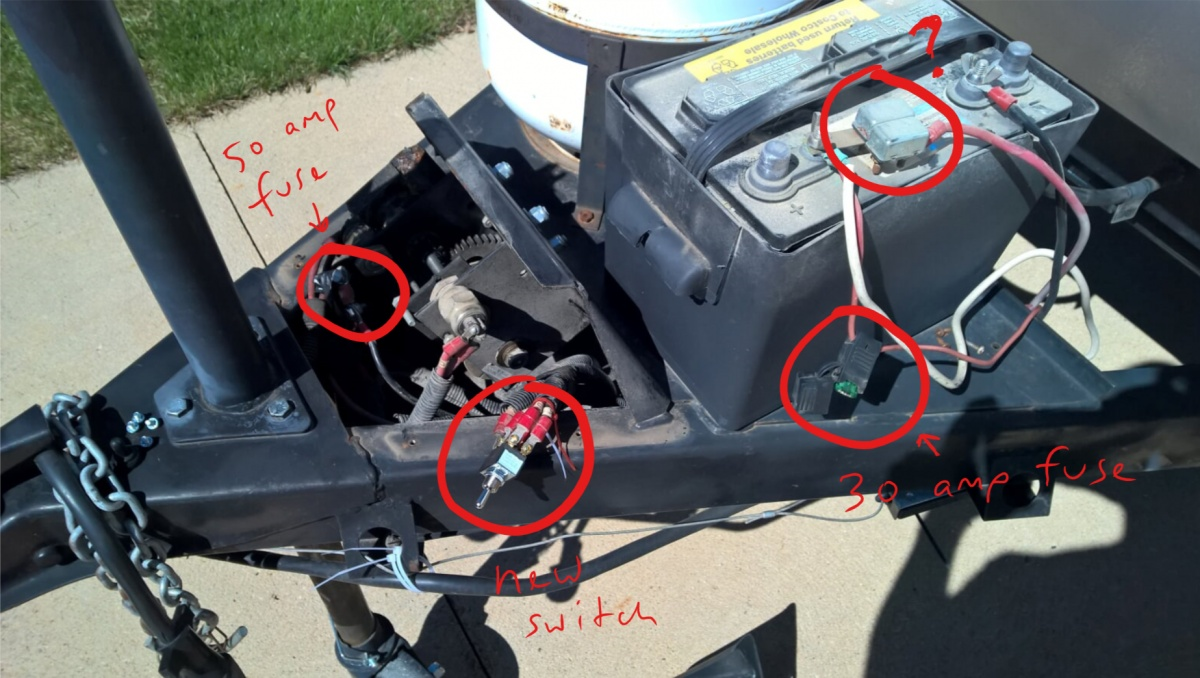 popup roof winch, no power - forest river forums  forest river forums