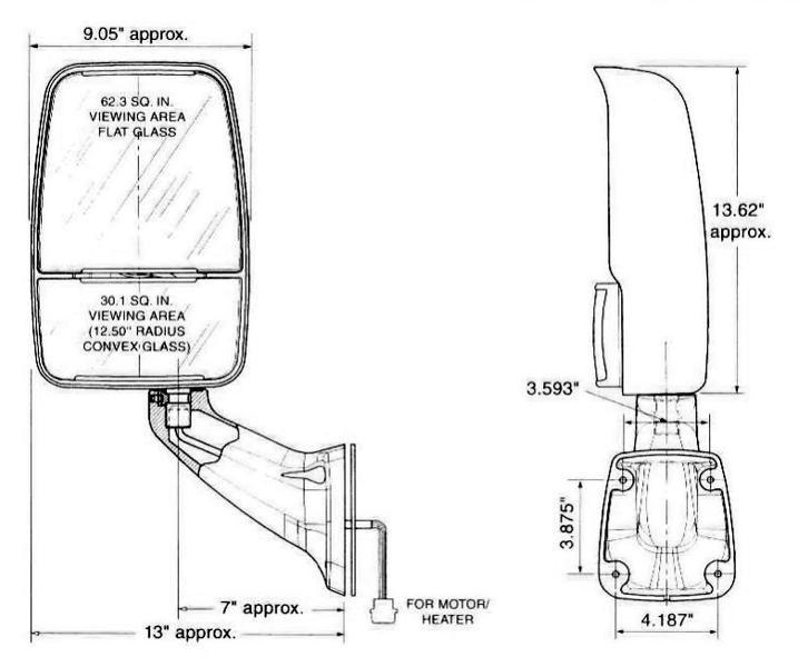 velvac rv mirrors wiring diagram get free image about Velvac 2030 Wiring Diagram for a Mirror Ramco RV Mirror Parts Diagrams