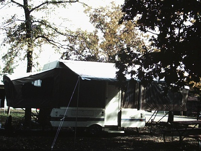 Click image for larger version  Name:2-1st camping trip with Coleman popup, Branson MO.jpg Views:206 Size:395.6 KB ID:128819