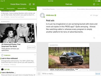 Paid ads - Forest River Forums