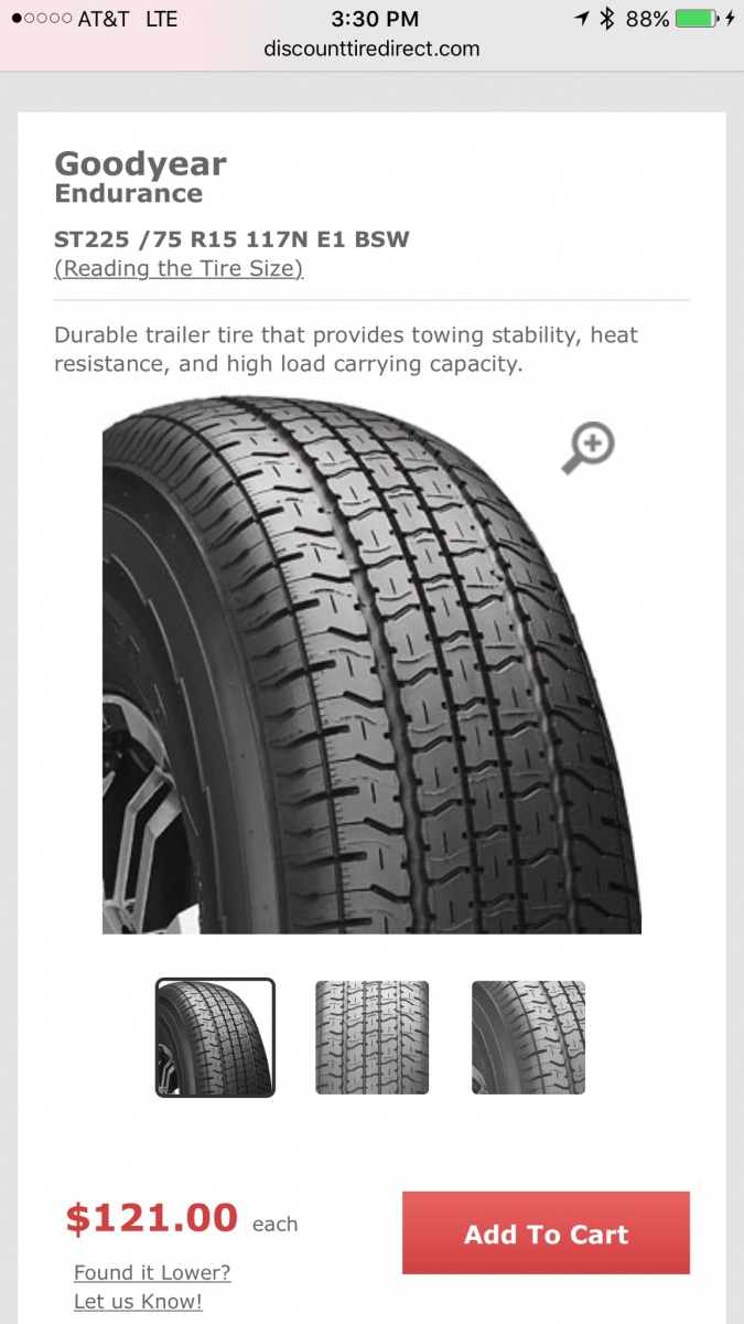 Goodyear Endurance Tires Forest River Forums