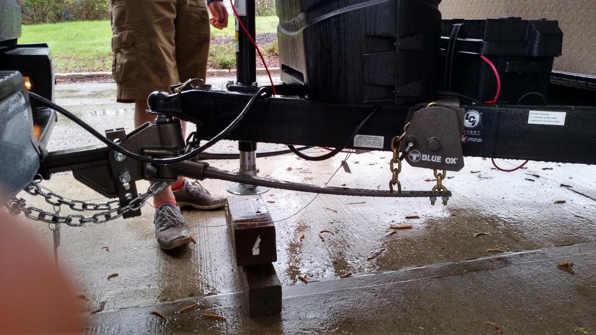 Blue Ox Sway Pro setup - Forest River Forums