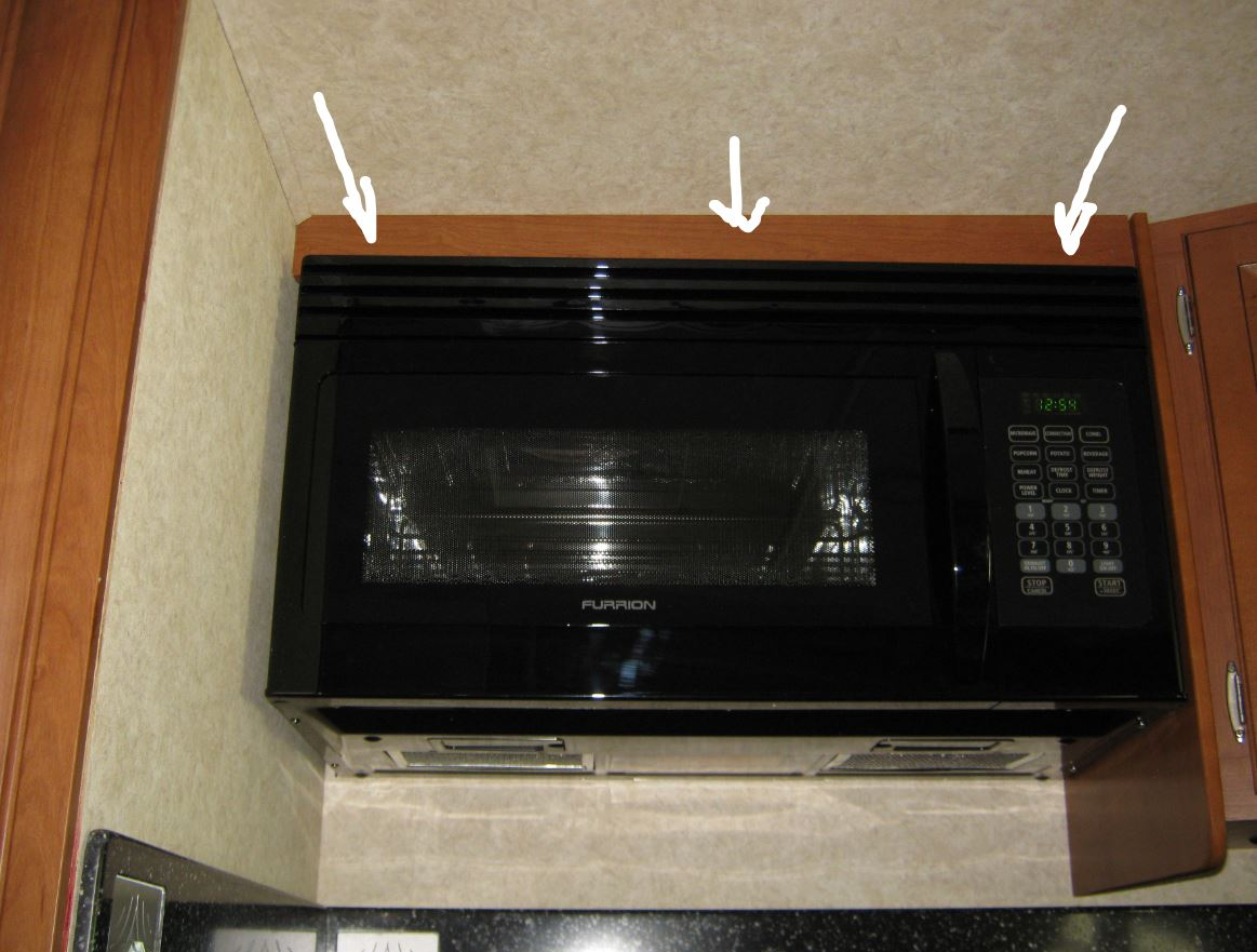 How to remove microwave - Forest River Forums