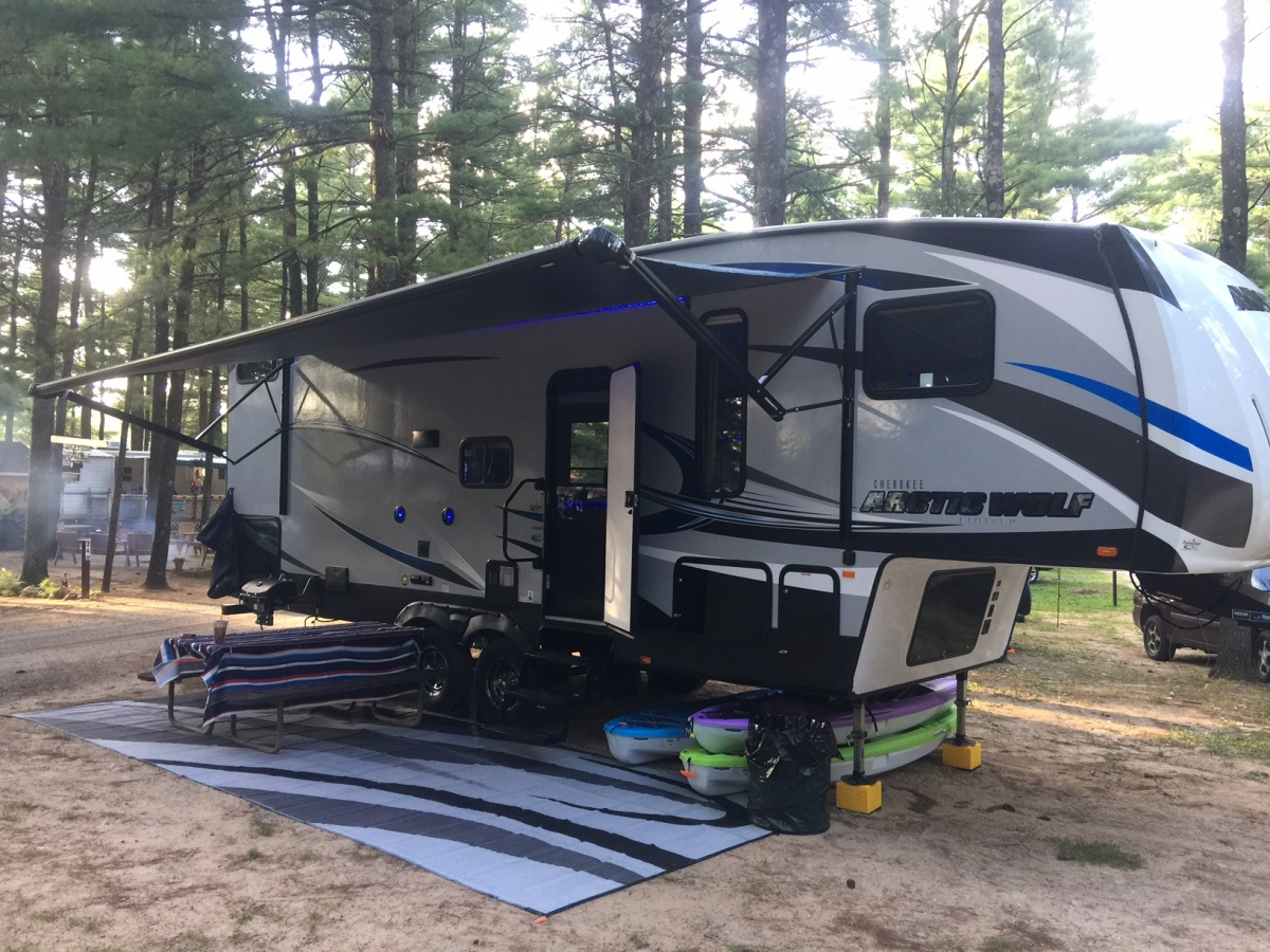 2018 Arctic Wolf 265dbh8 review - Forest River Forums