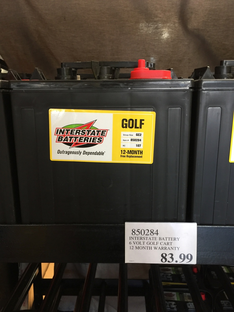 6 Volt House Batteries - Page 2 - Forest River Forums Golf Cart Interstate Batteries Hd Image Of New V Volt Battery Rv Marine Solar on