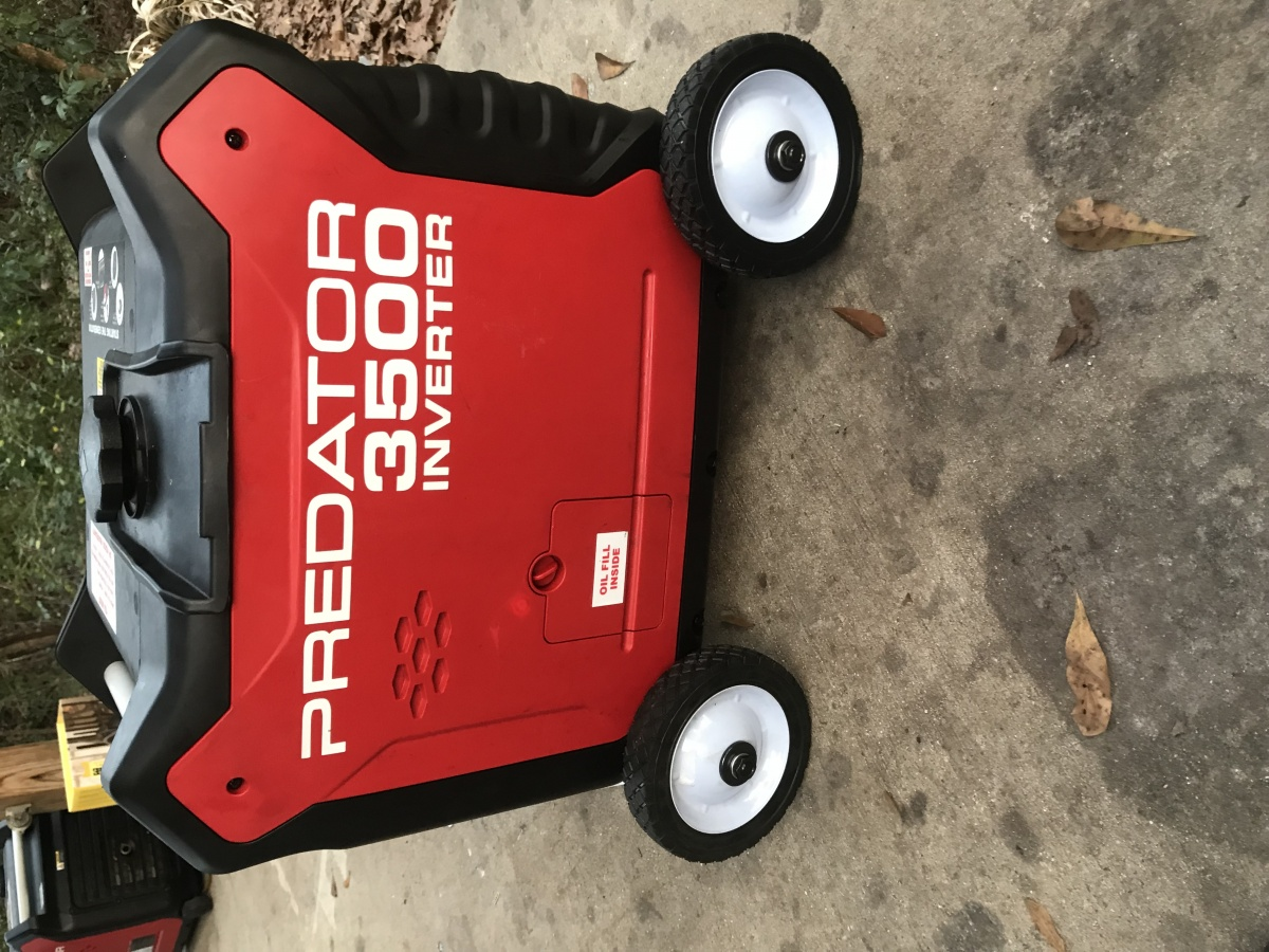Update on predator 3500 - Page 3 - Forest River Forums