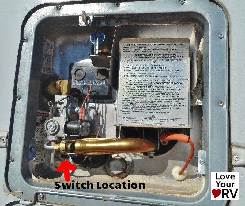 Electric Water Heater On And Off Switch Forest River Forums