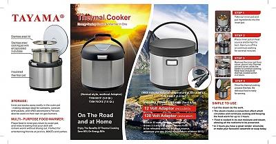Click image for larger version  Name:Tayama TXM-E60CF Thermal Cooker and Food Warmer2.jpg Views:36 Size:297.7 KB ID:171096