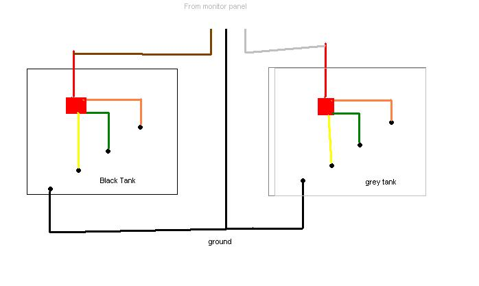 Add a 2nd tank monitoring system in outside or in water ... Kb Monitor Panel Wiring Diagram on