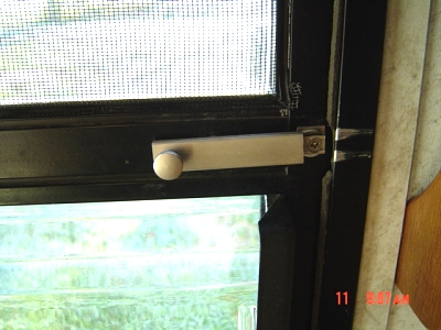 Child Proofing A Screen Door Forest River Forums