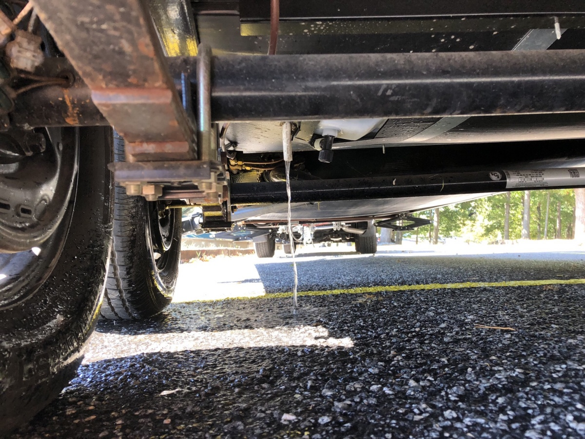 Click image for larger version  Name:Water Leak Under Trailer.jpg Views:143 Size:495.5 KB ID:189712