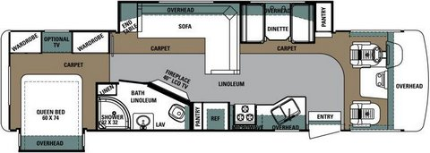Click image for larger version  Name:2014 Forest River Georgetown floor plan  and BR TV.jpg Views:94 Size:22.6 KB ID:192649