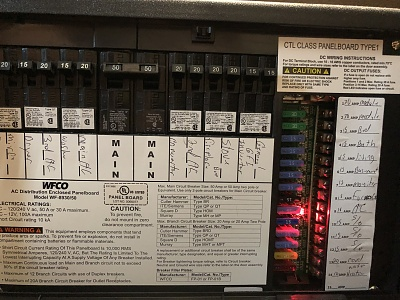 Light on in fuse box - Forest River ForumsForest River Forums