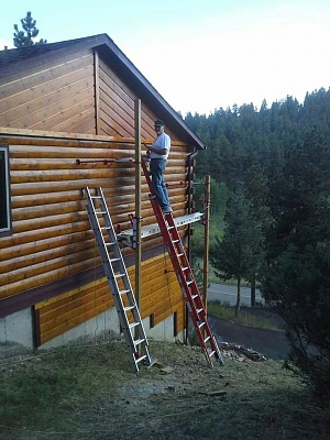 Click image for larger version  Name:Staining the cabin.jpg Views:72 Size:102.4 KB ID:196968