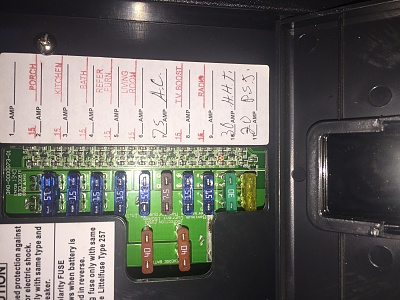 Light on in fuse box - Page 2 - Forest River ForumsForest River Forums