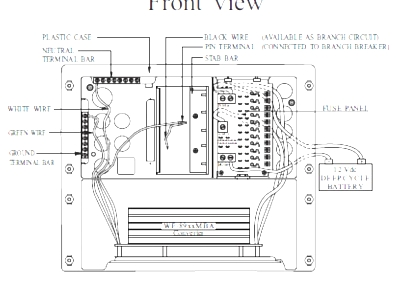 Omron Relay Wiring Diagram likewise Rv Solar S Power Wiring Diagram likewise Trailer Inverter Wiring additionally Wiring Diagram Inverter Dc To Ac likewise 12v Outlet Wiring Diagram. on rv power converter wiring diagram