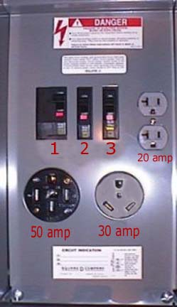 rv park pedestal wiring forest river forums click image for larger version 20 50amp service panel jpg views