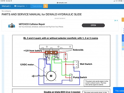 Slide Out Hydraulic switch - Forest River Forums | Hydraulic Slide Wiring Diagram |  | Forest River Forums