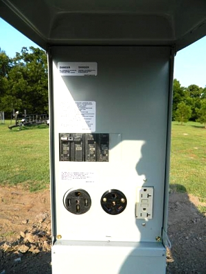 220 Outlet Wiring >> RV Park Power Pedestal Wiring - Forest River Forums