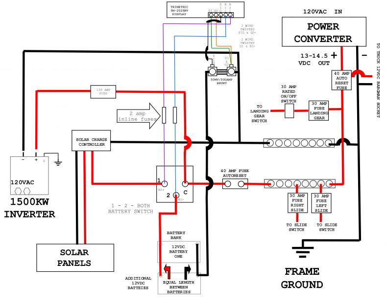 rv battery disconnect switch wiring diagram wiring diagram and 12 volt wiring diagram for trailer diagrams base