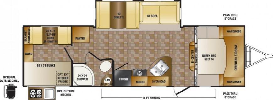 Click image for larger version  Name:CR Sunset Trail 290QB Floorplan.jpg Views:61 Size:38.0 KB ID:34402