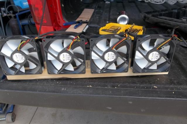 How to install new fans for a dometic refrigerator - Forest