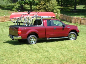 Valley Ford Yakima >> Bike rack above a retractable tonneau cover - Forest River Forums