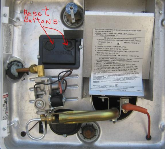 Suburban Sw6de Water Heater No Power At Secondary Switch