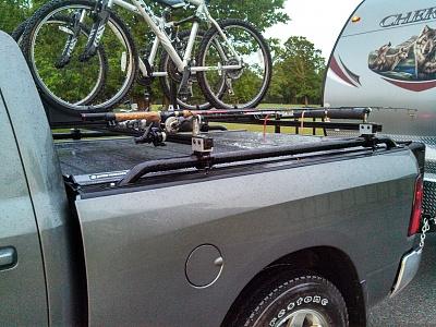 Bike Rack Above A Retractable Tonneau Cover Forest River Forums