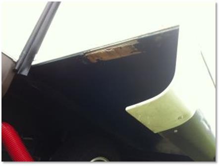 Damaged slideout underbelly trim strip-8289WS - Forest River Forums