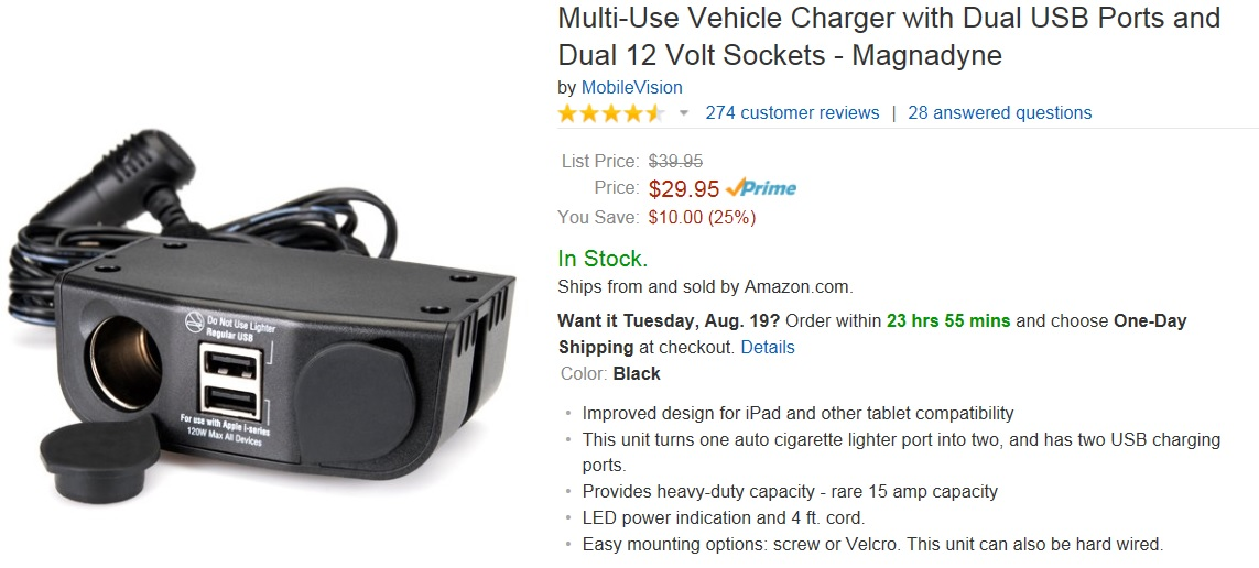 Click image for larger version  Name:12v Outlet with USB.jpg Views:219 Size:142.2 KB ID:60968