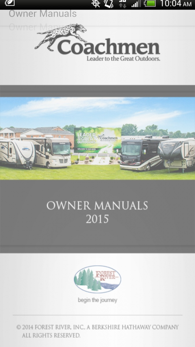 Coachmen App for smartphones - Forest River Forums