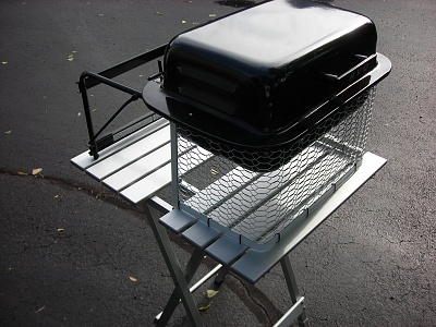 Rvq Grill With A Pup Forest River Forums