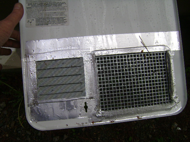 Insect Screens Over Appliance Vents Page 2 Forest