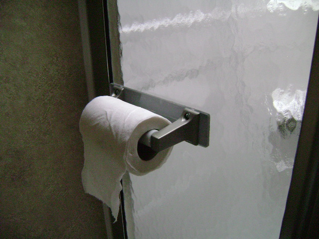 How to attach toilet paper holder? No solid supports behind wall ...