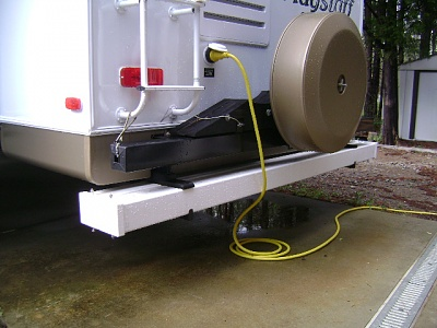 Click image for larger version  Name:Sewer hose, connections & Driver side Sun Shades.JPG Views:189 Size:144.7 KB ID:78554
