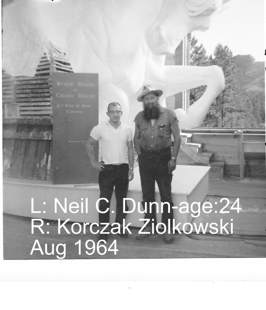 Click image for larger version  Name:Neil & Korczak Ziolkowski -Aug1964.jpg Views:82 Size:248.7 KB ID:86739