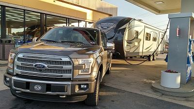 2015 f150 platinum ecoboost great tow vehicle forest river forums. Black Bedroom Furniture Sets. Home Design Ideas