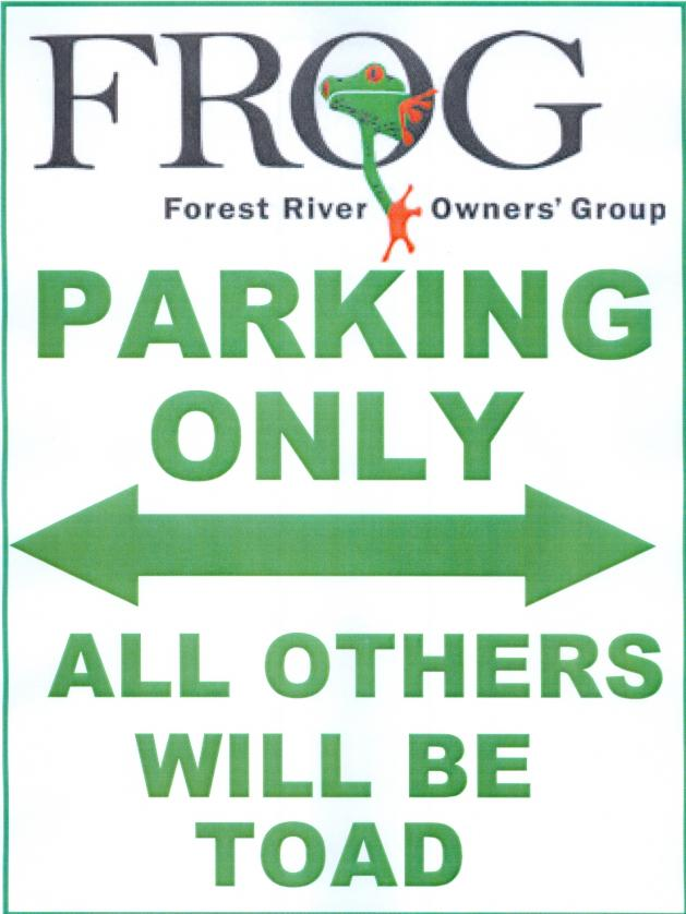 Click image for larger version  Name:Frog Parking Sign.jpg Views:42 Size:56.4 KB ID:9396