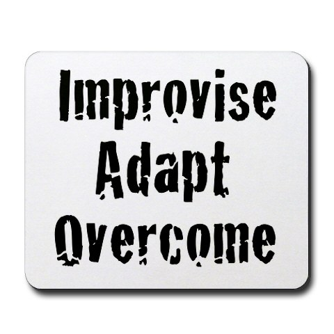 Click image for larger version  Name:quote-improvise-adapt-overcome-from-cafepress.jpg Views:79 Size:37.6 KB ID:99039